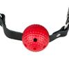 Ball Gag - Zwart/Rood