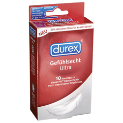 10 Durex Gevoelsechte Condooms