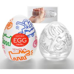 Keith Haring Tenga Egg Masturbator Street