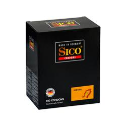 Sico Ribbed Condooms - 100 Stuks