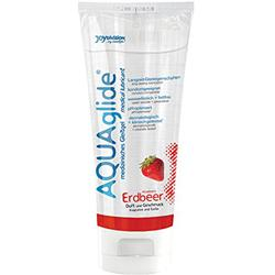 AQUAglide Strawberry Lubricant - 100 ml