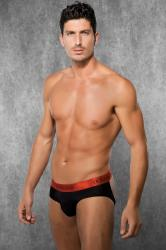 Men's Jockstrap - Black/Red