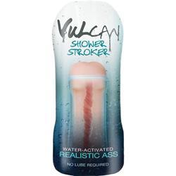 CyberSkin® H2O Vulcan Masturbator für die Dusche, realistischer Po