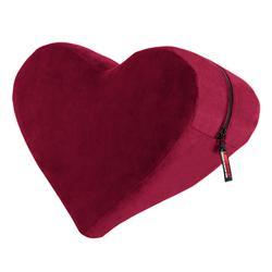 Heart Wedge Position Pillow - Merlot