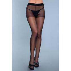 Everyday Wear Strumpfhose ouvert - Schwarz