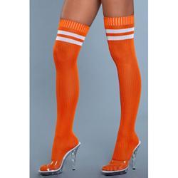 Going Pro Thigh High Stockings - Orange