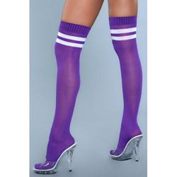 Going Pro Thigh High Stockings - Purpe