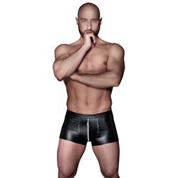Wetlook Boxer Met Rits