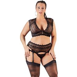 Lace Suspender Set