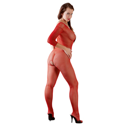 Catsuit rood One Size