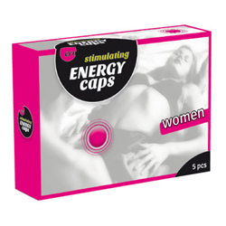 Stimulating Energy Caps Women 5 pcs