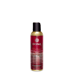 Dona Kissable Massage oil Strawberry