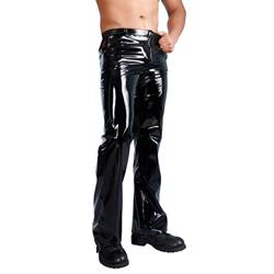 Men's Vinyl Trousers
