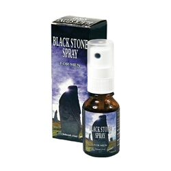 Orgasme Vertragende Spray - Black Stone