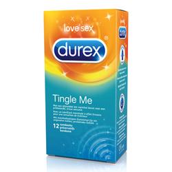 12 Durex Tingle Me condooms