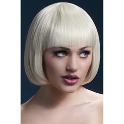 Pruik Met Boblijn - Blond