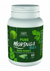 HOT BIO - Capsules de Moringa stimulantes pour hommes - 60 unités