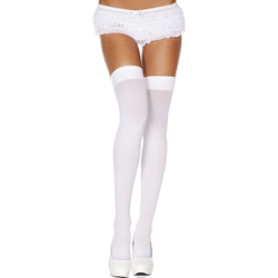 Basic Stockings WHITE