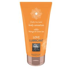 Love Lubricant edible - Mango & Green Tea
