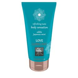 Love Lubricant edible - Japanese Mint