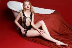 Sukienka mini Rimes – czarna