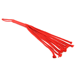 S&M Red Rope Flogger