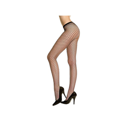 Musiclegs Black Fishnet Tights