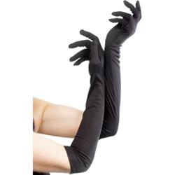 Lange Handschoenen - Zwart