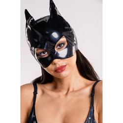 Wetlook-Maske mit Katzenohren