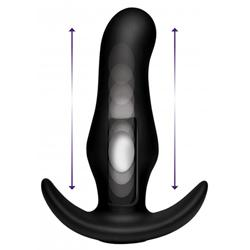 Thump-It Curved Buttplug aus Silikon -2