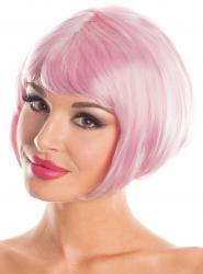 Short Bob Wig - Light Pink