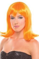 Doll Pruik - Oranje
