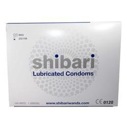 Shibari Condooms Met Glijmiddel - 144 Stuks