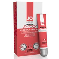 System Jo For Her Clitorisgel Warm & Buzzy - 10ml