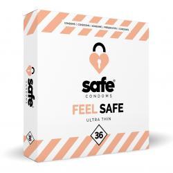 SAFE - Condoms - Ultra Thin - 36 pieces