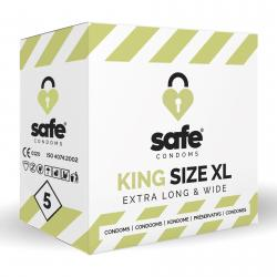 SAFE – Kondome – King Size XL – 5 Stück