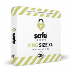 SAFE – Kondome – King Size XL – 36 Stück