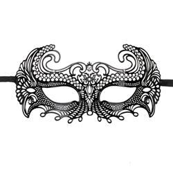 Easytoys Metalen Venetiaans Masker - Zwart