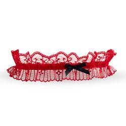 Kousenband - Rood