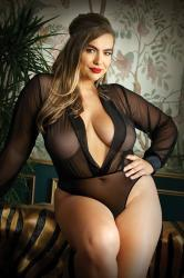 Moonlight Body Met Lange Mouwen - Curvy