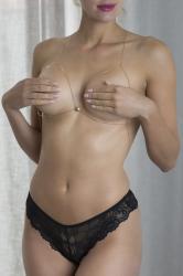 Otazu - Marlene Gold Plated Bodyketting Met Swarovski Kristal