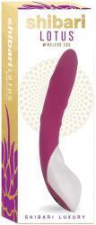 Shibari Lotus G-Spot Vibrator - Paars