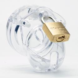 CB-X - Mini Me Chastity Cage - Clear