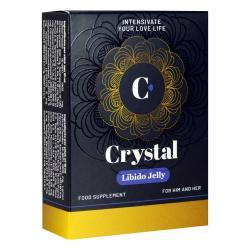 Afrodyzjak dla mężczyzn i kobiet Crystal Libido Jelly – 5 saszetek