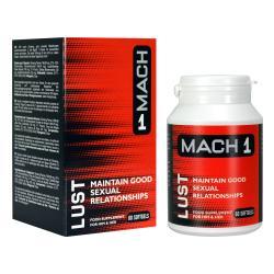 Mach 1 - Aphrodisiaque pour homme Lust Libido - 60 gélules