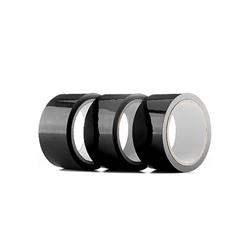 Bondagetape, 3 rollen - zwart