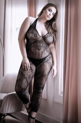 Good As Hell Catsuit Met Open Kruisje - Curvy