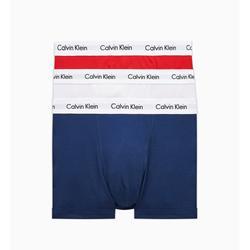 Calvin Klein 3 Pack - Wit/Blauw/Rood