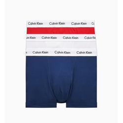 Calvin Klein 3 Pack - Rood/Wit/Blauw