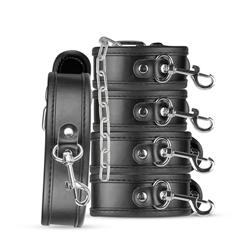 Bruno Beginner's Bondage Set - Black